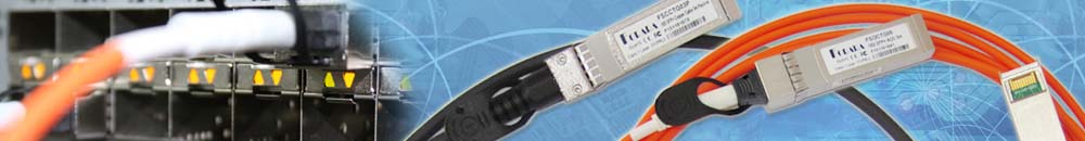 25G SFP28 Active Optical Cable 1m Banner